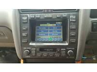 Lexus gs300 stereo sat nav unit gs mk2