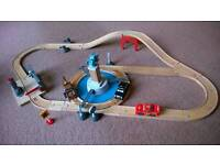 Cars wooden track