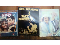 Large bundle of sheet music, books and sheets - variety of types