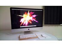 """APPLE iMac 27"""" Quad Core i5 3.1GHZ 1TB HDD 4GB SIERRA OSX SIRI TOP SPEC NEW COND"""