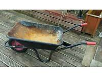 Good used condition stron large wheel barrow