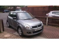 Suzuki Swift 1.5 GLX(59 reg)2009, 5 dr, hatchback, manual, petrol, 38,980 miles, grey.