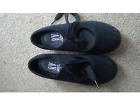Black Tap Shoes - child size 9