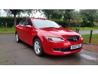 MAZDA 6 TS 2.0 AUTOMATIC 07 PLATE 2007 1P/OWNER 120,000 MILES FULL SERVICE HISTORY AIRCON ALLOYS