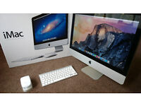 APPLE IMAC 2011 INTEL QUADCORE i5 2.5GHz 4GB RAM 500GB DRIVE EXCELLENT CONDITION! £500