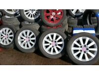 MINT 16'' HONDA ALLOYS 5 STUD WITH FREE TYRES ,FITTING AND BALANCE OPEN 7 DAYS