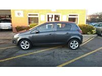 VAUXHALL CORSA 1.2 SXI AC. only 20,500 from new September2013