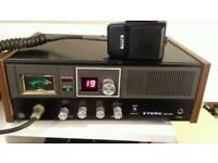 York homebase cb radio with powermic
