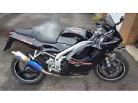 TRIUMPH DAYTONA T595 955CC TREG 1999 GOOD CONDITION LONG MOT