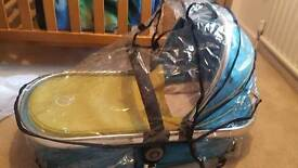 Carry cot and pushchair seat