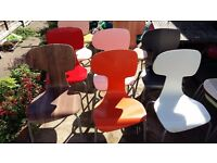 Good dining room, conservatory, outdoor garden chairs (Assorted Colours)