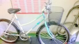 TOWN BIKE, NEW TYRES, BASKET FULLY RESTORED