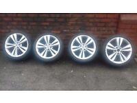 Skoda 18 inch VRS, Neptune Alloy Wheels