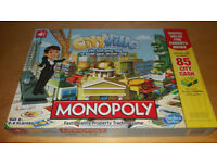 Monopoly City Ville Board Game Complete w Instructions