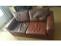 Used Leather Sofa Bed