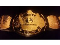 WWE signed Bret Hart winged eagle belt