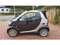 LOW MILES LOW TAX CITY SMART CAR FORTWO CONVERTIBLE SOFT TOP
