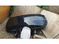 Massive roof box bought from halfords
