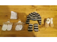 Various newborn items - all new with tags still on
