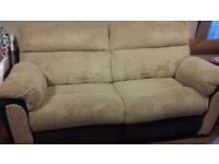 3 and 2 seater recliner