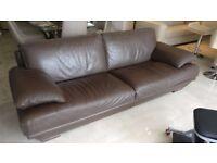 Natuzzi Italian 3 Seater Sofa