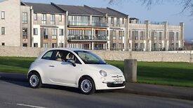 Fiat 500 1.2 POP Low Mileage 69710, Petrol, Economical Low Insurance Low Tax £30 White