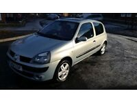 2004 Renault Clio Dynamique 1.2 Only 55,000 Miles! 1 Year MOT! Immaculate Condition!