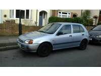 Toyota Starlet 1.3 automatic in good condition MOT TILL 24 MAY 2018. n good for delivery.