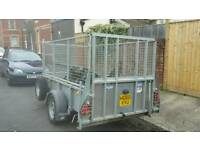 Ifor williams gd84 trailer caged sides