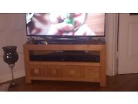 Oak TV Corner Unit from Next Plus Sideboard From Next