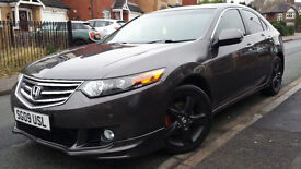 2009 HONDA ACCORD 2.2 I-DTEC AUTOMATIC DIESEL, 112K MILES, GREAT CONDITION LEATHERS SATNAV £3850