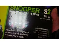 safety alert system Snooper s2 for cautions drives
