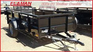 "Diamond C 5'x10' Utility Trailer with 26"" sides"