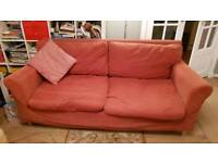 Habitat Sofa bed with spare covers