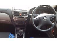 Used Nissan Almera-Green--£500