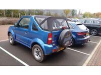 Suzuki Jimny VVTS Convertible 2006, excellent condition
