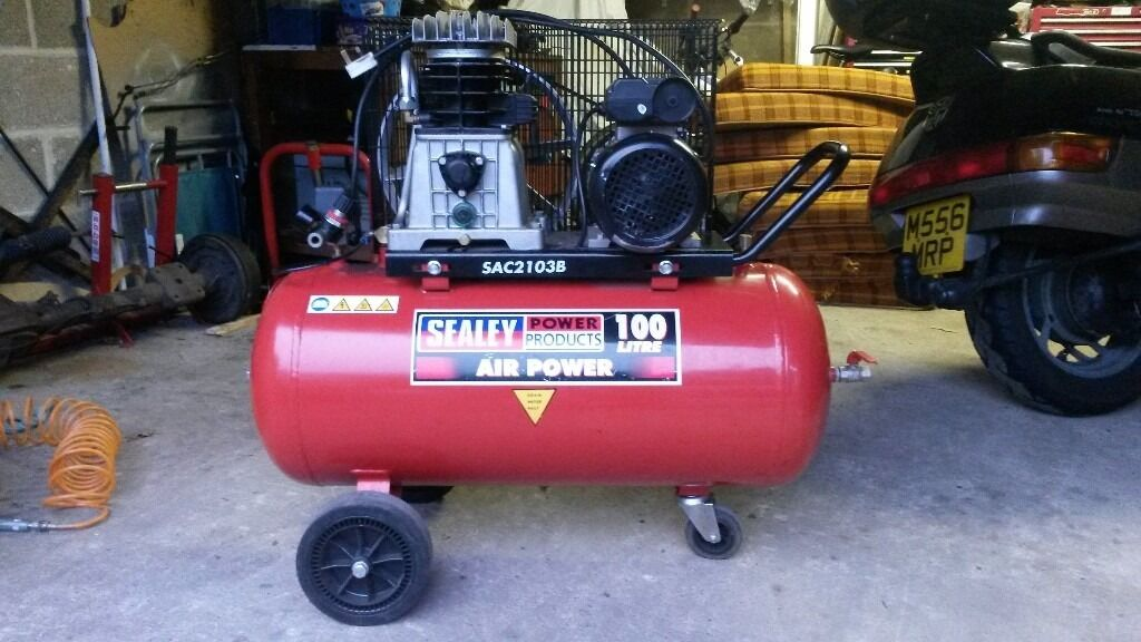 Sealey 100 litre compressor. SAC2103B