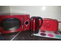 Kettle, microwave & toaster