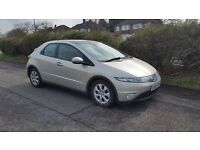 Honda Civic IVTEC SE, 5 Door Panoramic Roof Fresh MOT - History - 1 Owner Immaculate - Delivery OK