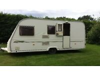 AVONDALE DART CARTON 510 -5 BERTH TOURING CARAVAN 202 with full awning