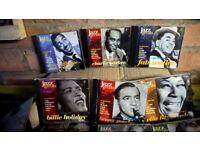 Jazz Greats CD's. Around 70 discs.
