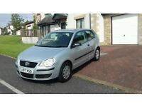 2007 VW POLO 1.2,LONG MOT, LOW MILES 41,000, £1895