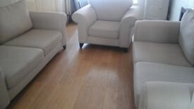 Dfs two sofas and chair