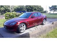 07 Mazda RX-8 1.3 Nemesis in Metallic Red, Only 67000 miles