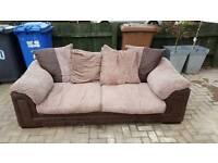FREE DFS jumbo cord sofa