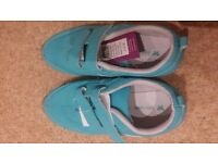 John Lewis Turquoise Trainers Size 1