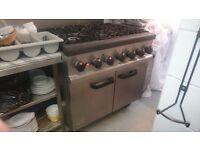 2 x Lincat commercial range ovens