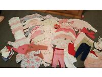 Huge bundle of 3-6 months baby girls clothes