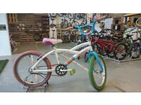 BOYS GIRLS AVIGO BMX BIKE
