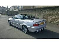 Bmw 320i 2.2straight six 5speed manual convertable
